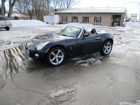 2008 Pontiac Solstice for sale at RJ Motors in Plano IL