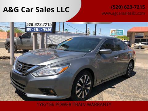 2017 Nissan Altima for sale at A&G Car Sales  LLC in Tucson AZ