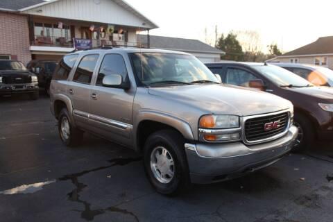2001 GMC Yukon for sale at Rine's Auto Sales in Mifflinburg PA