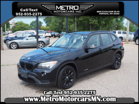 2013 BMW X1 for sale at Metro Motorcars Inc in Hopkins MN