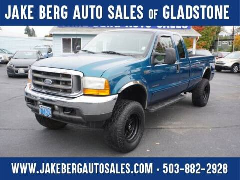 2001 Ford F-250 Super Duty for sale at Jake Berg Auto Sales in Gladstone OR
