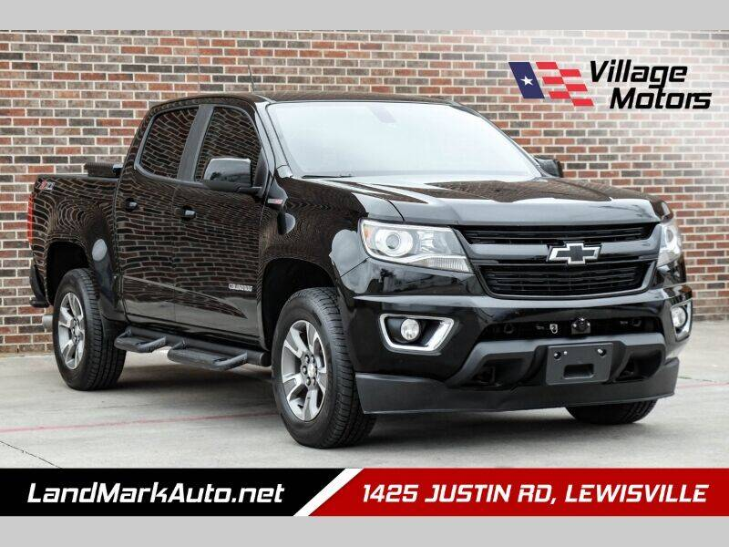 2016 Chevrolet Colorado for sale at Village Motors in Lewisville TX