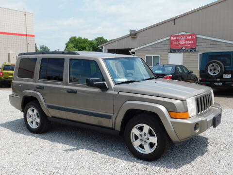 2006 Jeep Commander for sale at Macrocar Sales Inc in Akron OH