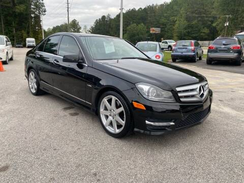 2012 Mercedes-Benz C-Class for sale at Galaxy Auto Sale in Fuquay Varina NC