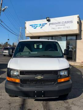 2015 Chevrolet Express Cargo for sale at Prime Cars Auto Sales in Saugus MA