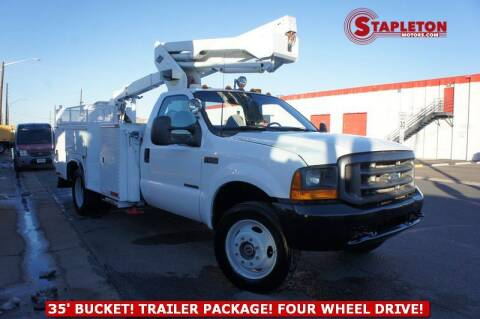 2000 Ford F-550 Super Duty for sale at STAPLETON MOTORS in Commerce City CO