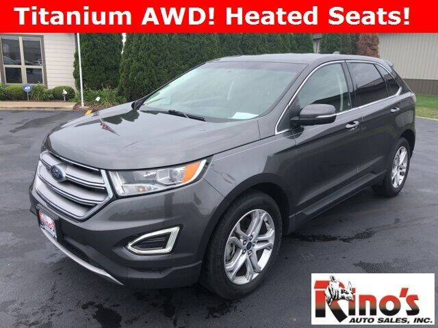 2017 Ford Edge for sale at Rino's Auto Sales in Celina OH