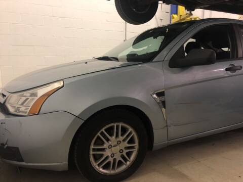 2008 Ford Focus for sale at Cargo Vans of Chicago LLC in Mokena IL