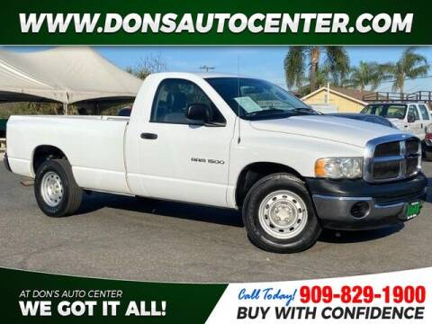 2005 Dodge Ram Pickup 1500 for sale at Dons Auto Center in Fontana CA