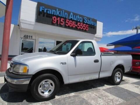 2000 Ford F-150 for sale at Franklin Auto Sales in El Paso TX