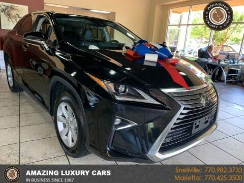 2017 Lexus RX 350 for sale at Amazing Luxury Cars in Snellville GA