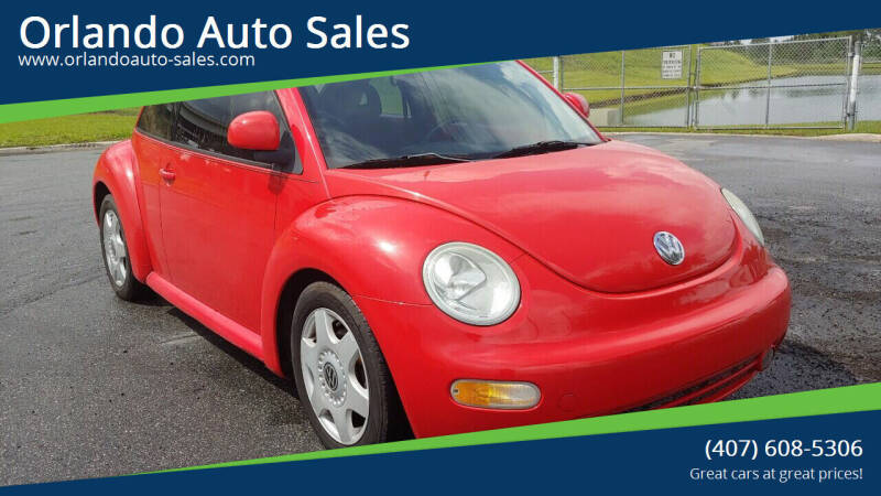 1998 Volkswagen New Beetle for sale at Orlando Auto Sales Recycling in Orlando FL