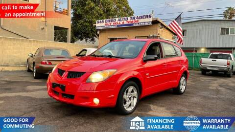 2004 Pontiac Vibe for sale at San Diego Auto Traders in San Diego CA