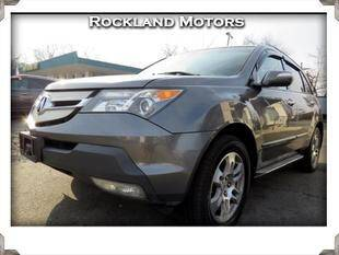 2009 Acura MDX for sale at Rockland Automall - Rockland Motors in West Nyack NY
