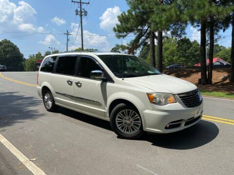 2013 Chrysler Town and Country for sale at THE AUTO FINDERS in Durham NC