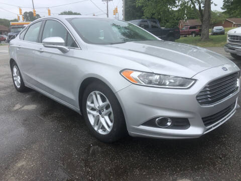 2016 Ford Fusion for sale at Creekside Automotive in Lexington NC