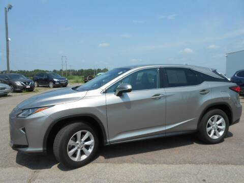 2017 Lexus RX 350 for sale at Salmon Automotive Inc. in Tracy MN
