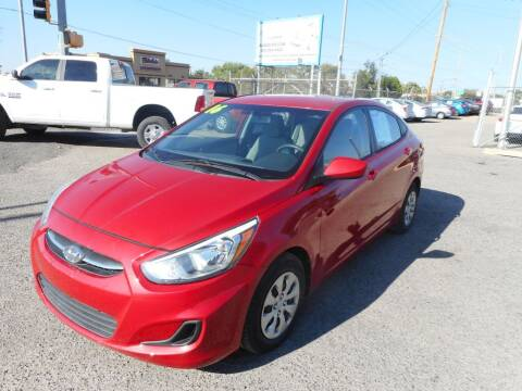 2016 Hyundai Accent for sale at AUGE'S SALES AND SERVICE in Belen NM