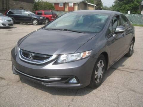 2013 Honda Civic for sale at ELITE AUTOMOTIVE in Euclid OH