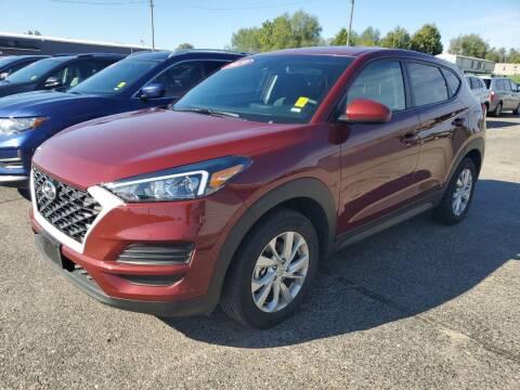 2019 Hyundai Tucson for sale at Paris Auto Sales & Service in Big Rapids MI