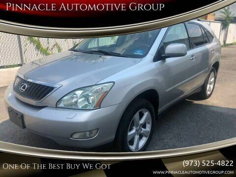 2008 Lexus RX 350 for sale at Pinnacle Automotive Group in Roselle NJ