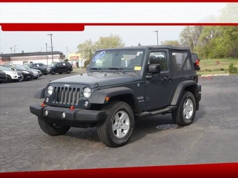2017 Jeep Wrangler for sale at Autowest of GR in Grand Rapids MI