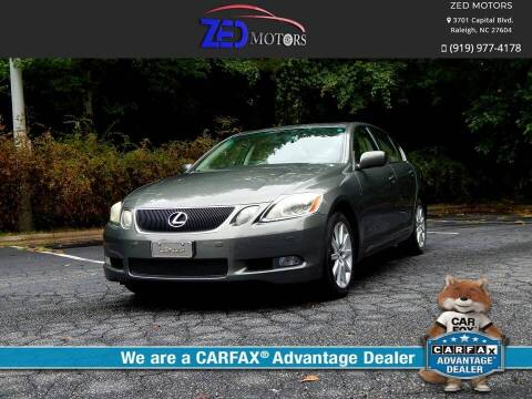 2006 Lexus GS 300 for sale at Zed Motors in Raleigh NC