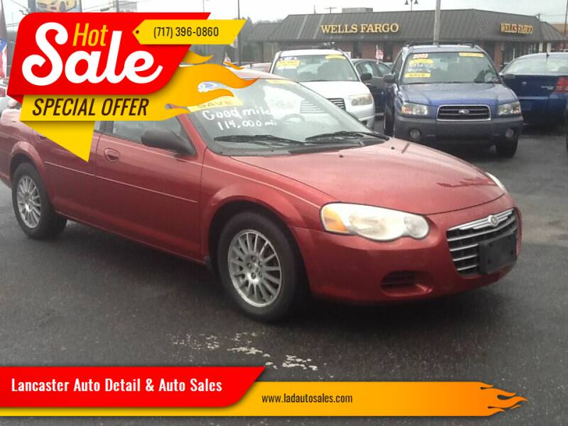 2006 Chrysler Sebring for sale at Lancaster Auto Detail & Auto Sales in Lancaster PA