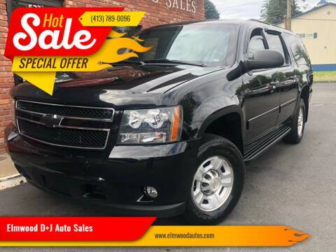 2013 Chevrolet Suburban for sale at Elmwood D+J Auto Sales in Agawam MA