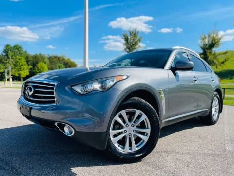 2015 Infiniti QX70 for sale at AUTO DIRECT in Houston TX