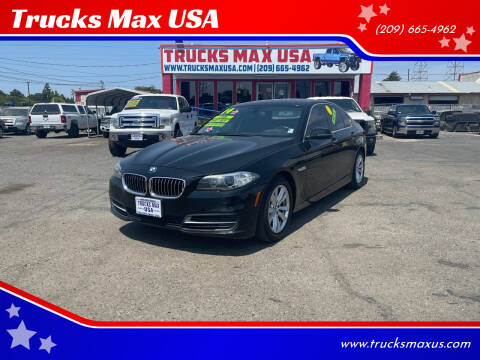 2014 BMW 5 Series for sale at Trucks Max USA in Manteca CA