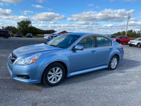2012 Subaru Legacy for sale at Riverside Motors in Glenfield NY