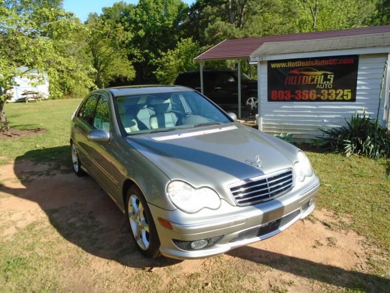 2007 Mercedes-Benz C-Class for sale at Hot Deals Auto LLC in Rock Hill SC
