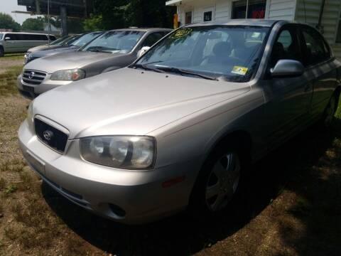 2001 Hyundai Elantra for sale at Ray's Auto Sales in Elmer NJ