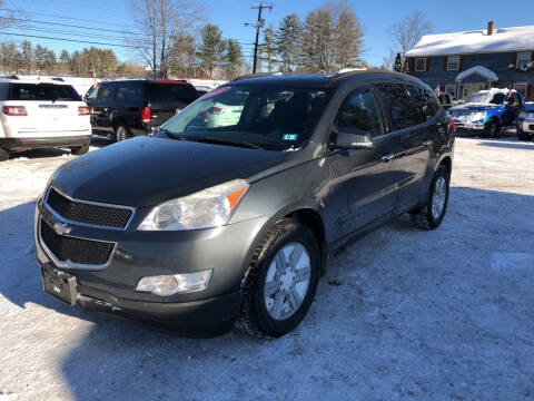 2011 Chevrolet Traverse for sale at Winner's Circle Auto Sales in Tilton NH