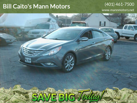 2012 Hyundai Sonata for sale at Bill Caito's Mann Motors in Warwick RI