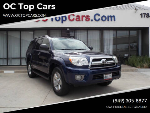 2008 Toyota 4Runner for sale at OC Top Cars in Irvine CA