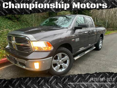 2017 RAM Ram Pickup 1500 for sale at Mudarri Motorsports - Championship Motors in Redmond WA