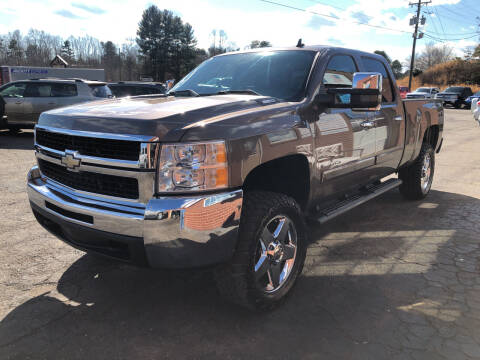 2008 Chevrolet Silverado 2500HD for sale at FREEDOM AUTO LLC in Wilkesboro NC