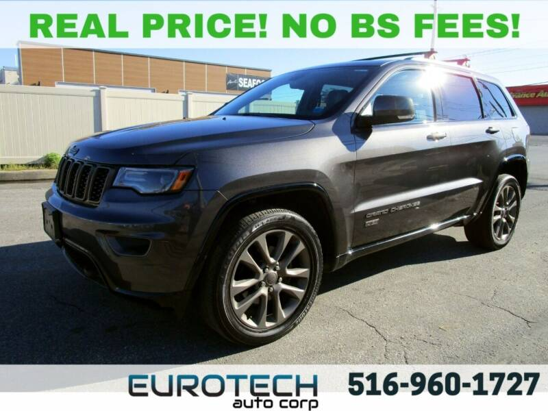 2016 Jeep Grand Cherokee for sale at EUROTECH AUTO CORP in Island Park NY