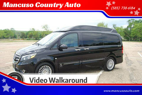 2019 Mercedes-Benz Metris Explorer Package for sale at Mancuso Country Auto in Batavia NY