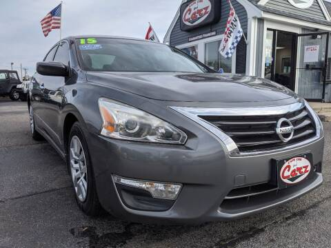 2015 Nissan Altima for sale at Cape Cod Carz in Hyannis MA
