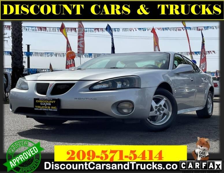 2004 Pontiac Grand Prix for sale at Discount Cars & Trucks in Modesto CA