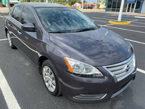 2015 Nissan Sentra for sale at Eden Cars Inc in Hollywood FL
