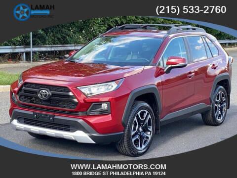 2019 Toyota RAV4 for sale at LAMAH MOTORS INC in Philadelphia PA