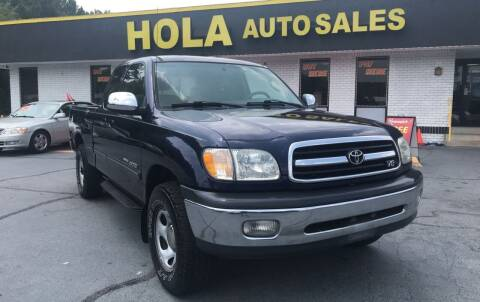 2000 Toyota Tundra for sale at HOLA AUTO SALES CHAMBLEE- BUY HERE PAY HERE - in Atlanta GA