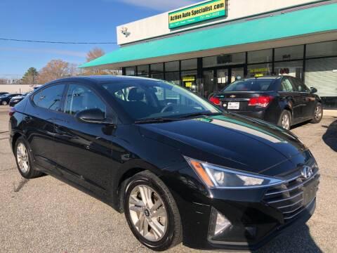 2019 Hyundai Elantra for sale at Action Auto Specialist in Norfolk VA
