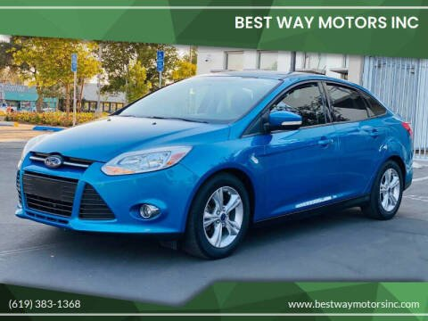 2014 Ford Focus for sale at BEST WAY MOTORS INC in San Diego CA