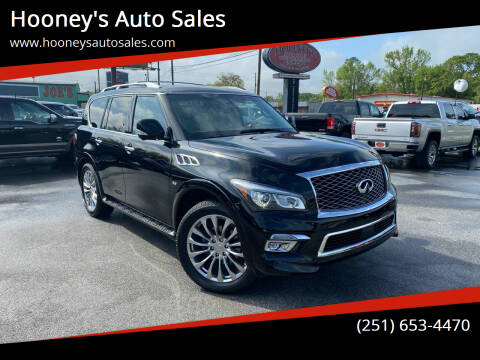 2015 Infiniti QX80 for sale at Hooney's Auto Sales in Theodore AL