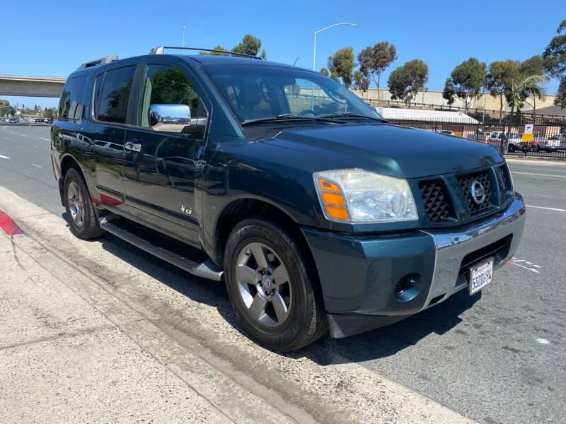 2005 Nissan Armada for sale at Beyer Enterprise in San Ysidro CA